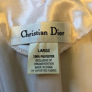 Christian Dior sleep/silky slip dress